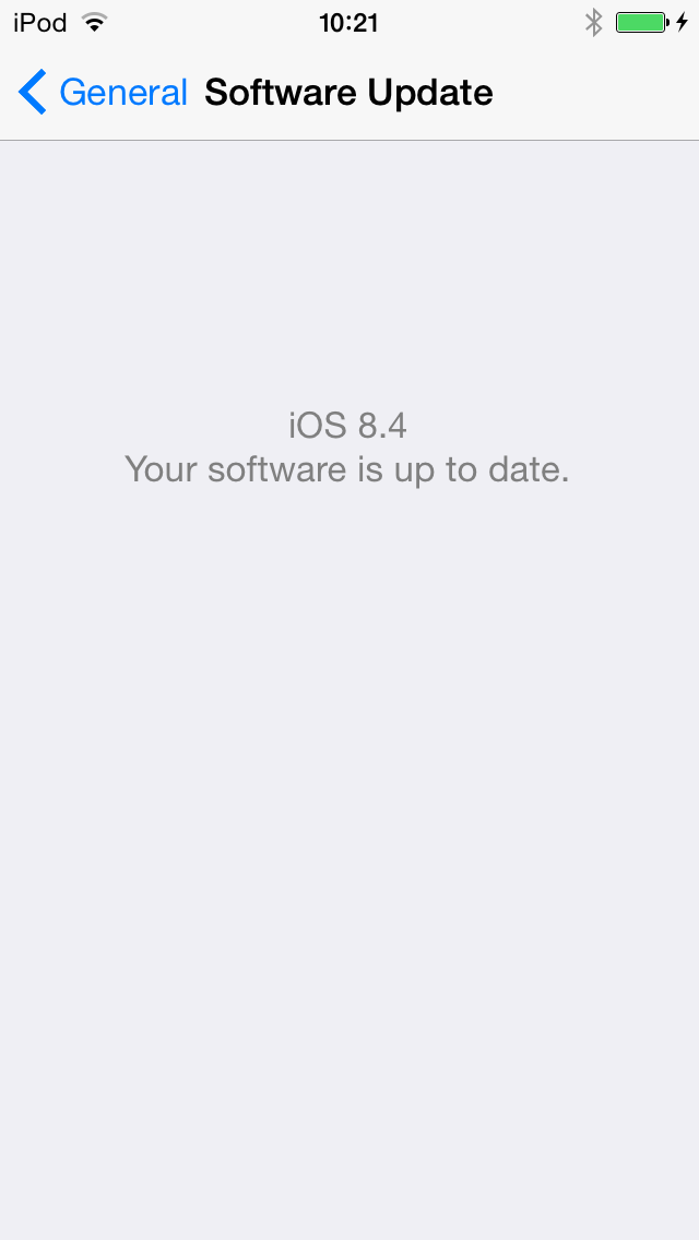When is 8.4 not 8.4, iPod?