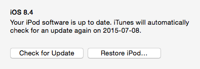 When is 8.4 not 8.4, iTunes?
